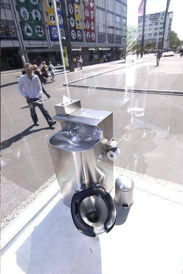 Lavabo cristal publico