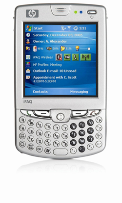 HP iPaq hw6915